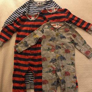 Baby Boden Romper PJ 4-pack